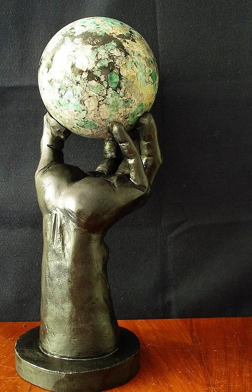 Emerald hand