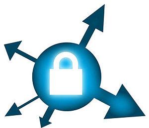 עברית: לוגו של התוסף HTTPS Everywhere לפיירפוקס
