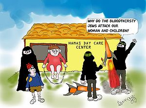 English: Hamas day care center