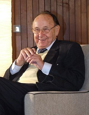 Hans-Dietrich Genscher, visit at the CJD Chris...