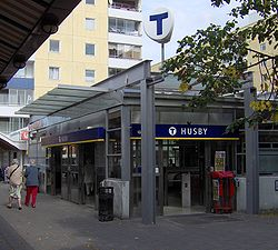 Husby tunnelbanestation