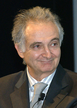 Jacques Attali, French economist, at the MART ...