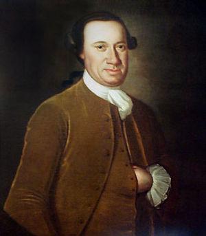 Portrait of John Hanson, 3rd president of the ...