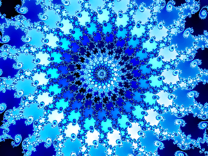 Image detail of the Mandelbrot set.