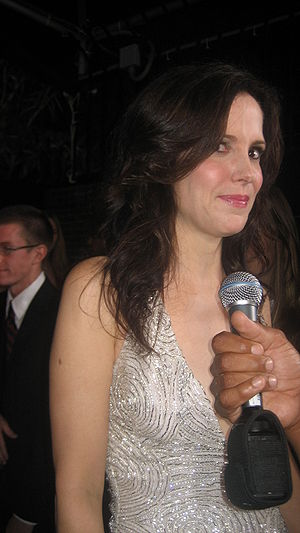 American actress Mary-Louise Parker at the L.A...