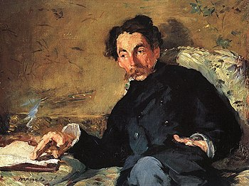 Portrait of Stéphane Mallarmé, by Eduard Manet...