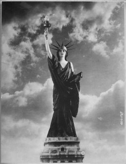 Save Her From Hun-Buy Liberty Bonds. From a photograph posed for by Miss Francis Fairchild, a 1918 debutante of New York - NARA - 533723