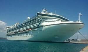 Cruise Ship Star Princess