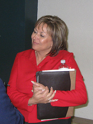 English: Susana Martinez, District Attorney of...