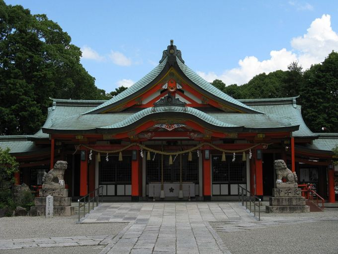 Tajihayahime-jinja haiden