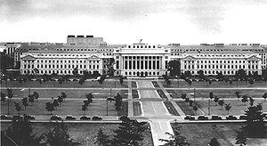 United States Department of Agriculture buildi...