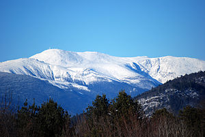 Mount Washington from Intervale, NH