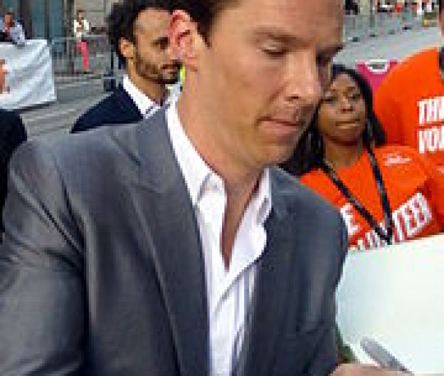 Benedict Cumberbatch Signing Autographs At The Premiere Of The Film At Tiff September