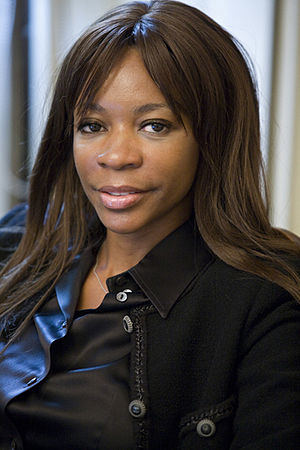 English: Photo of Dambisa Moyo. http://www.dam...