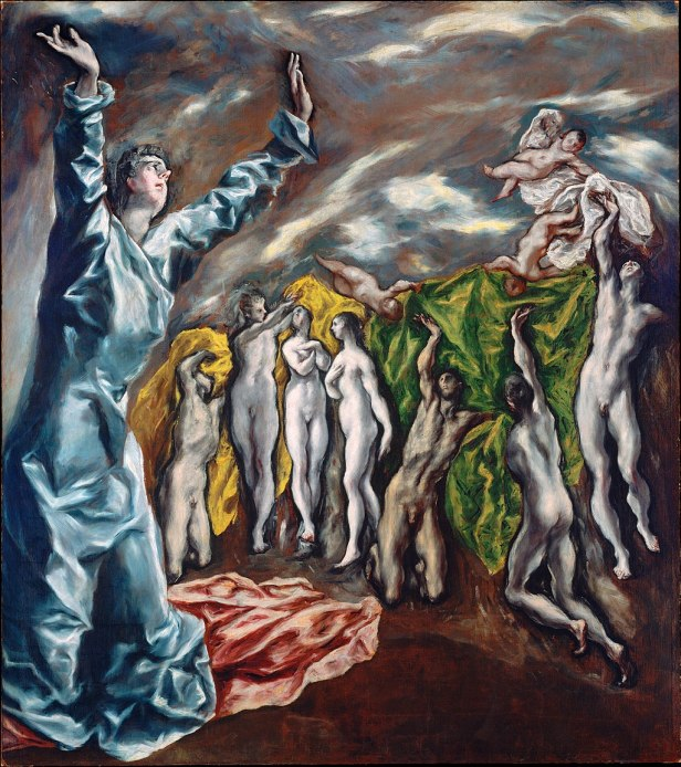 El Greco, The Vision of Saint John (1608-1614)