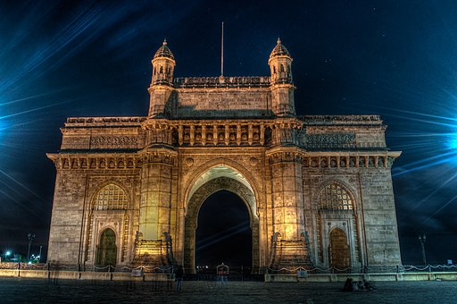 Gateway of India at night
