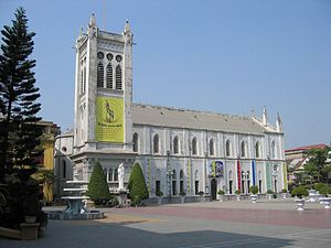 English: Haiphong Cathedral (2007) Français : ...