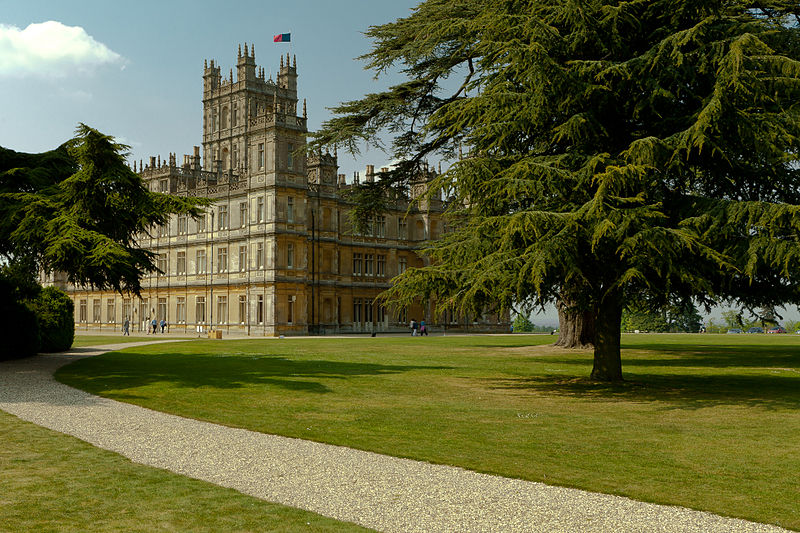 Highclere Castle - Downton Abbey - Philippa Jane Keyworth - Regency Romance Author