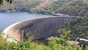 Kariba Dam of the Zambezi (Zambia/Zimbabwe)