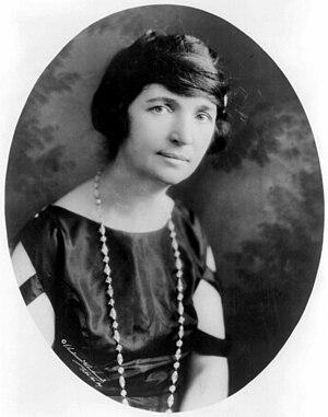 Margaret Sanger Deutsch: Margaret Sanger (* 1879)
