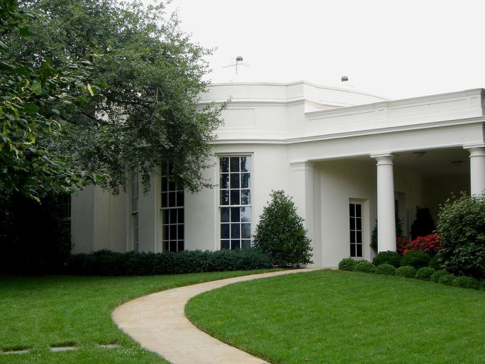Oval Office Exterior