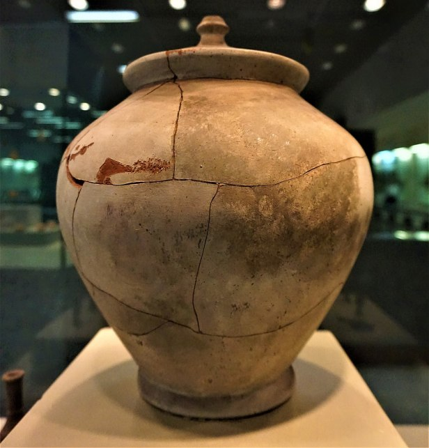 Pithos with Lid 3rd Century BC - Syntagma Metro Station Archaeological Collection - Joy of Museum