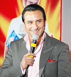 English: Indian actor Saif Ali Khan
