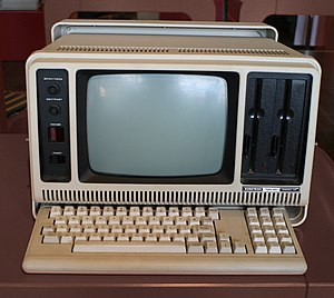 English: Tandy Radio Shack TRS-80 Model 4P