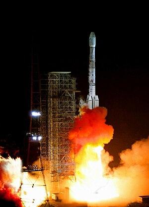 The launch of Long March 3B Rocket, Xichang Sa...