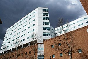 Main Hospital of the Medical Center at the Uni...