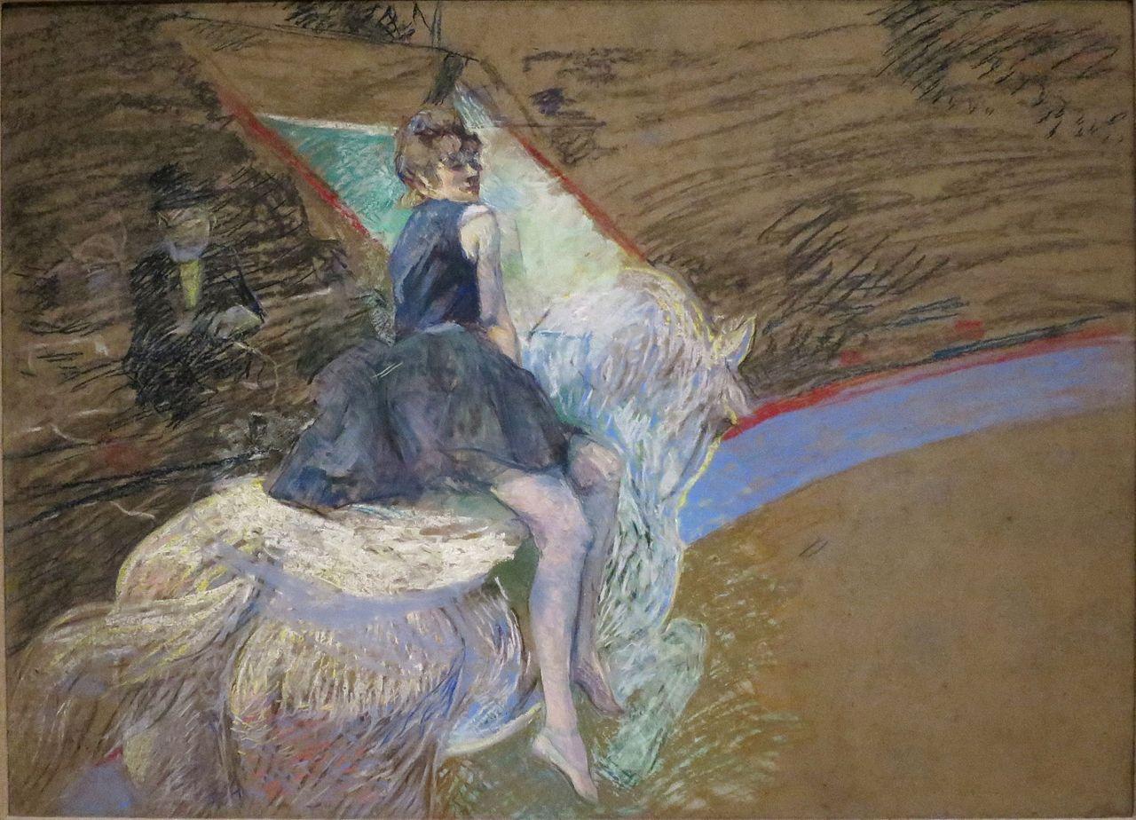 File At The Cirque Fernando By Henri De Toulouse Lautrec