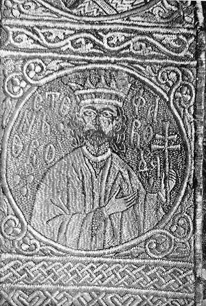Ştefan cel Mare at Putna monastery