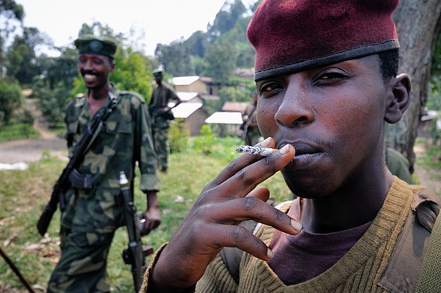 M23-soldater (foto: Al Jazeera)