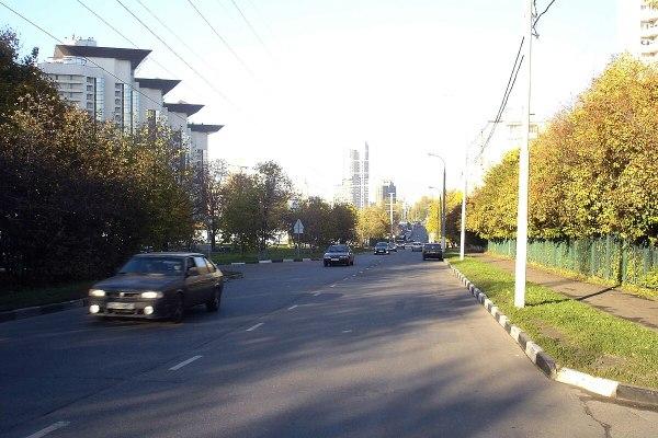 Улица Архитектора Власова — Википедия