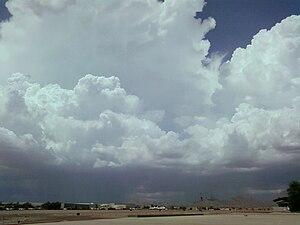 az monsoon clouds