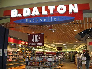 A B. Dalton Bookstore in Slidell, LA.