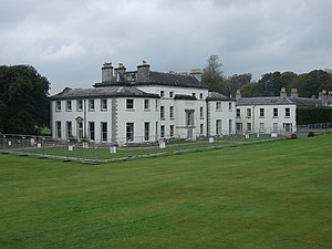 English: Fota House Fota House was formerly th...