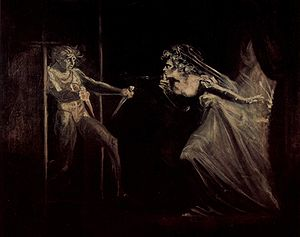 Lady Macbeth receives the daggers