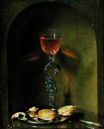Luttichuys, Isaac - Still Life with Bread and ...