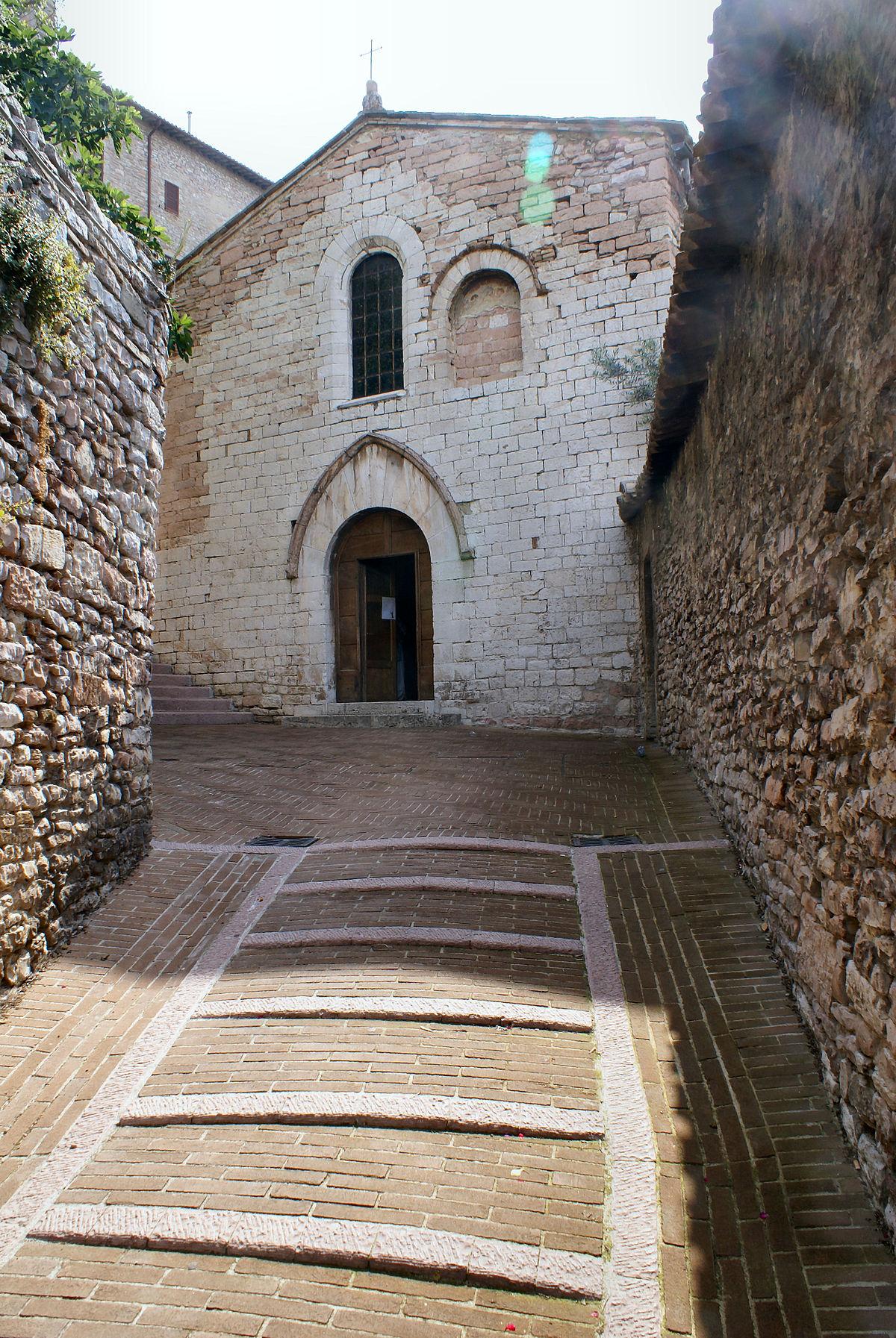 Santo Stefano Assisi Wikipedia
