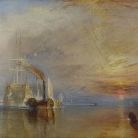 """The Fighting Temeraire"" by Joseph Mallord William Turner"