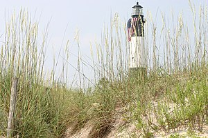 Lighthouse in Tybee Island, Georgia, USA.