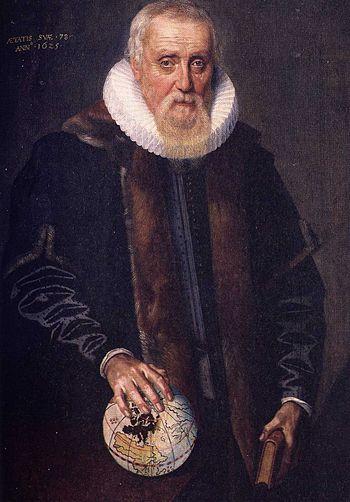 Ubbo Emmius (1547-1625) first rector magnificu...