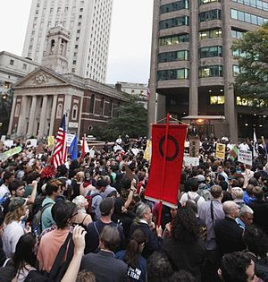 English: occupy wall street