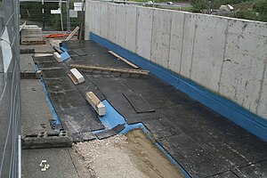 Watch this space-73 The fresh concrete has bee...