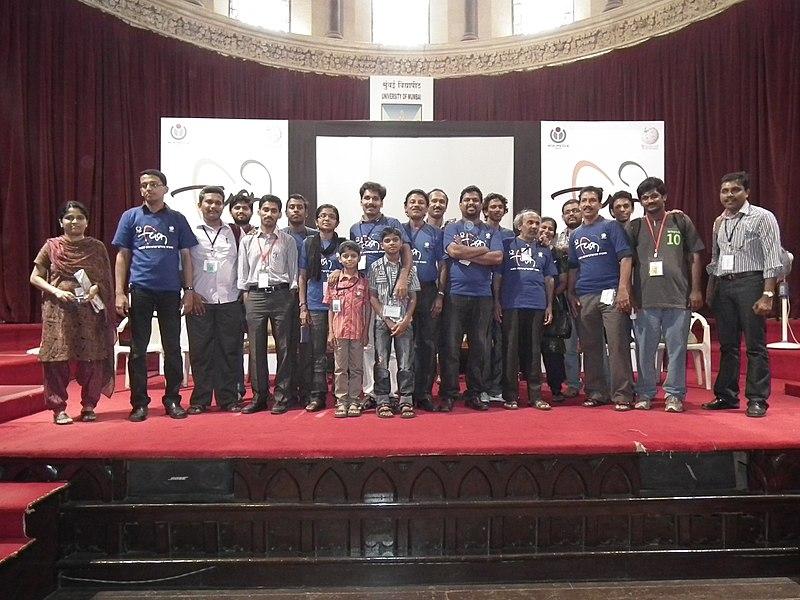 WikiConference India 2011 - Malayalam wikipedians 9640