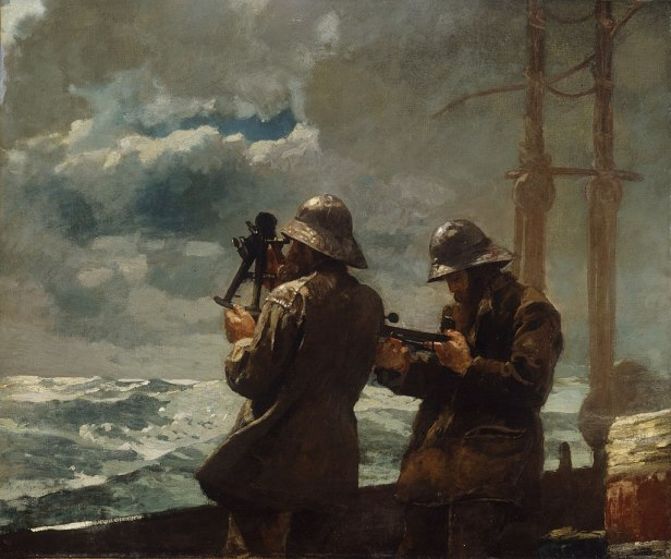 """Eight Bells"" by Winslow Homer"