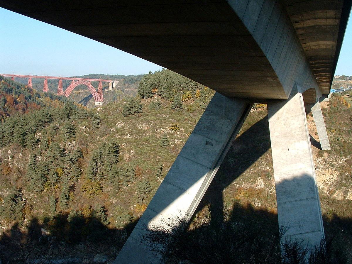 Pont Autoroutier De Garabit Wikipdia
