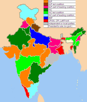 Altered colors as per latest political scenario.
