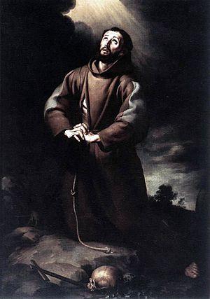 Bartolomé Esteban Murillo - St Francis of Assi...